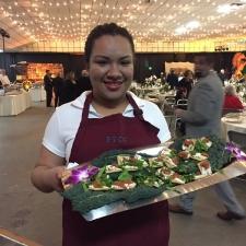 Ceiba serving Appetizers