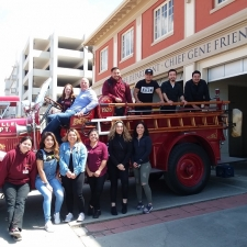 2018 Firetruck Ride and Lunch D'La Colmena