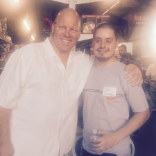 Bill Hansen with Sal, from Forever Fly