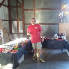 Ron, with Freedom Media Services and a LOT of Great Food