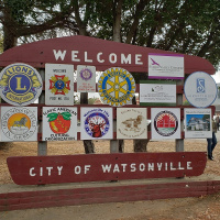 New Additions to the Watsonville Welcome Sign