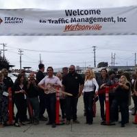 Ribbon Cutting at Traffic Management, Inc.