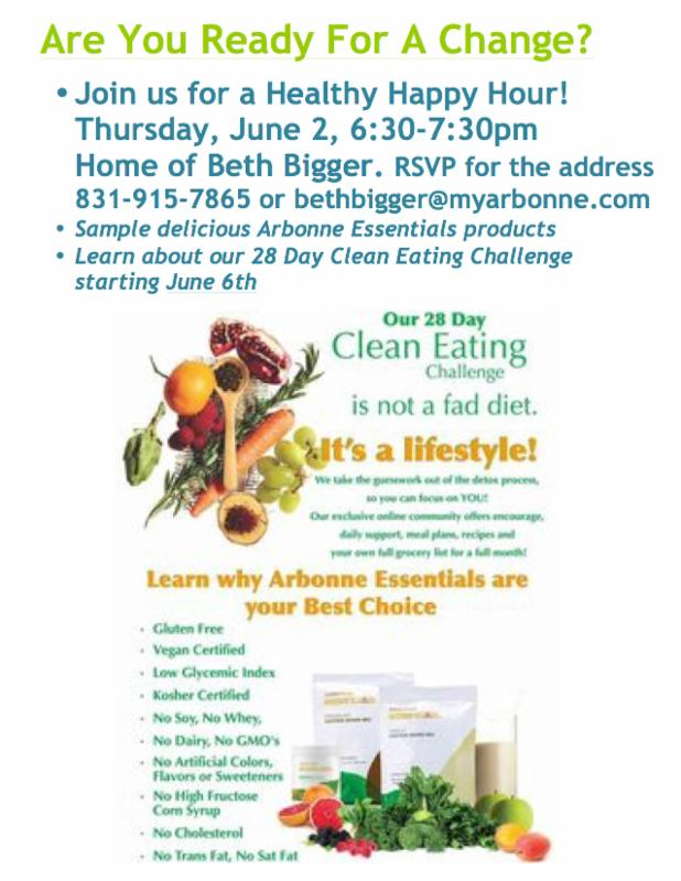 News from Great Shape Fit Club  Healthy Happy Hour