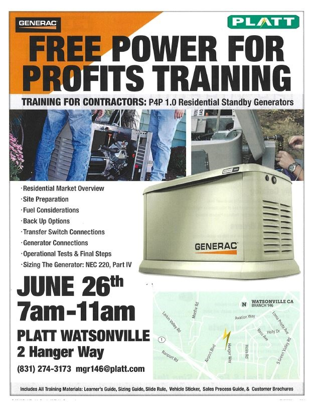 Free Training for Contractors - Pajaro Valley Chamber of Commerce