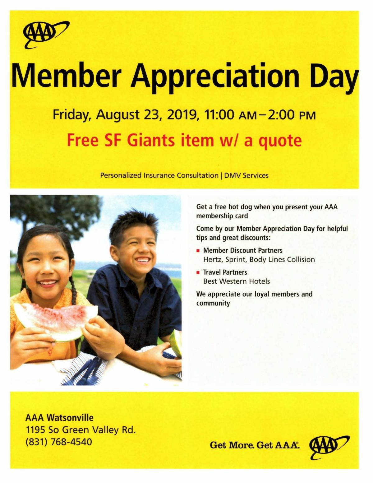 Member Appreciation Day - Pajaro Valley Chamber of Commerce